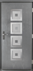 Aliumines lauko durys