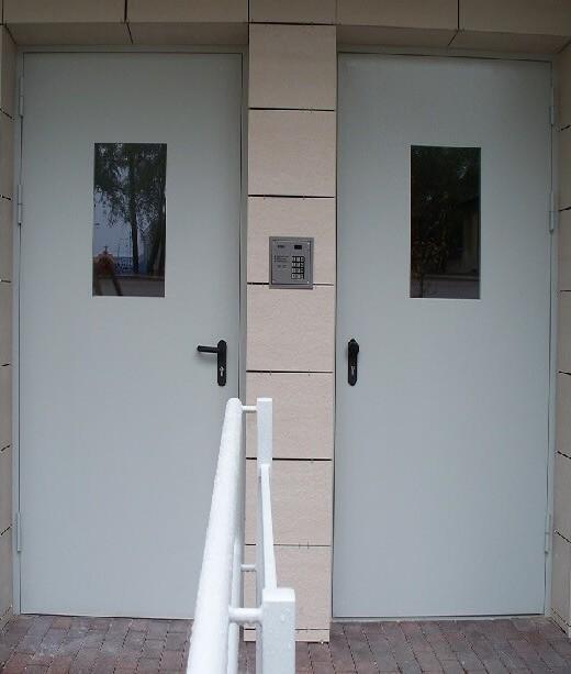 laiptines durys