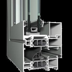 "Aliuminiai Langai ""Concept System 77"""