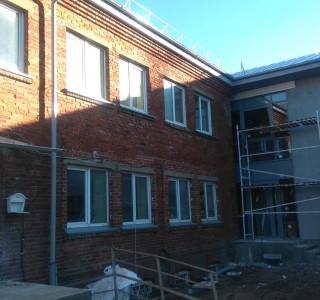 Langų montavimas ir fasadų šiltinimas