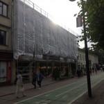 Laisvės alėja 87 g. stogo ir fasado rekonstrukcijos darbai.
