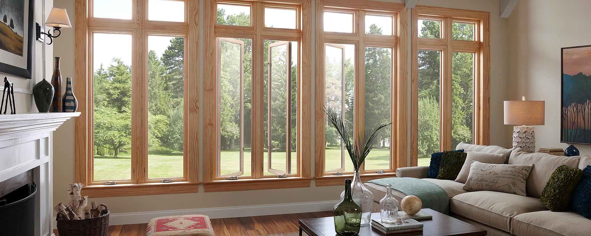 Mediniai langai (3)